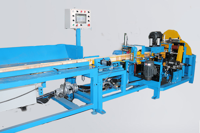 Fully automatic splicing pier cutting machine